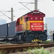 От януари до август между Китай и Европа са пътували 10 052 товарни влака