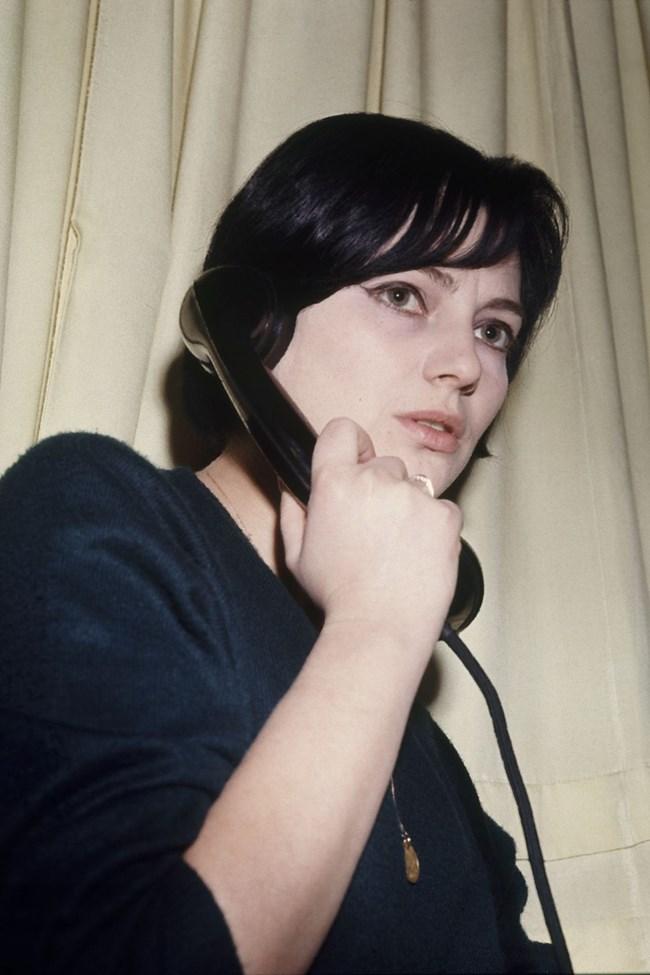 Така  изглежда  Невена  Коканова в първите  си години в  Сатиричния театър.  СНИМКА: ГЕОРГИ ПАНАМСКИ