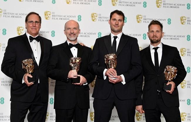 """Даниел Судик, Крейг Хамак, Джефри Е. Бауман и Джеси Джеймс Чишолм получиха награда за специални визуални ефекти за филма """"Черната пантера""""."""
