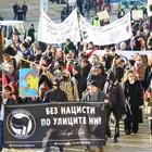 Блокираха кръстовище в София при протест срещу Луковмарш (Снимки)