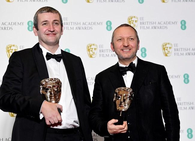 Ричард ван Ден Бум и Джонатан Ходжсън бяха отличени за най-добър късометражен анимационен филм с Roughhouse.
