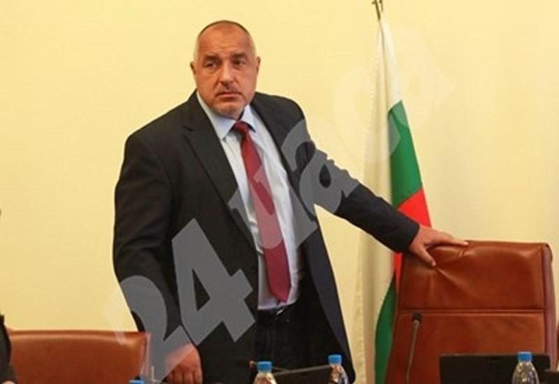 Премиерът Бойко Борисов  СНИМКА: Архив