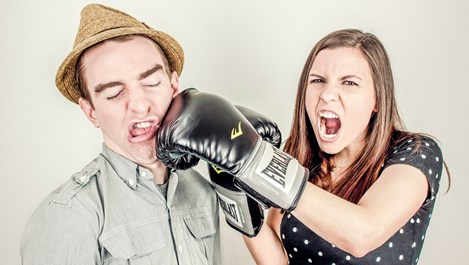Особености на жената насилник