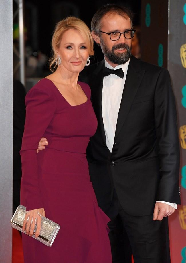Джоан Роулинг със съпруга си