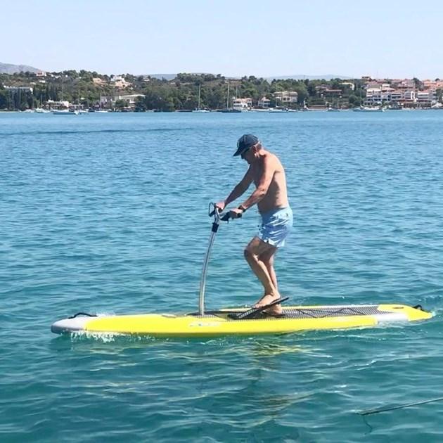 Спас Русев подкара сърф на педали