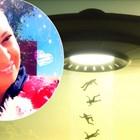 Анита Мейзер на гости на извънземно