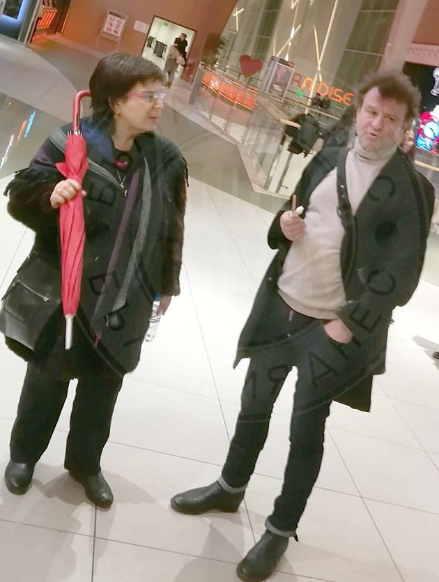 Димитър Гочев на среща в мола