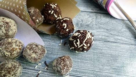 Съвършените шоколадови трюфели за 15 минути
