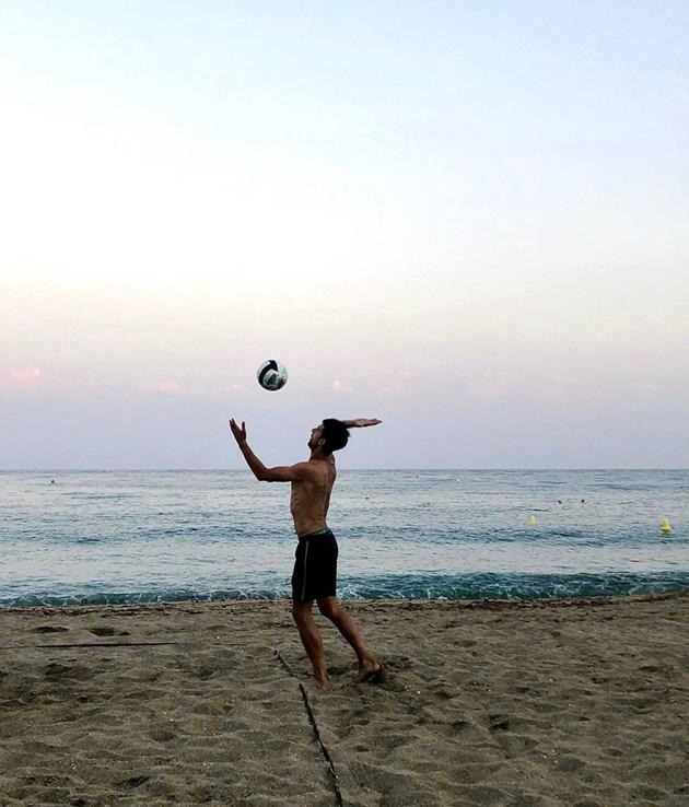 Ноле джитка плажен волейбол
