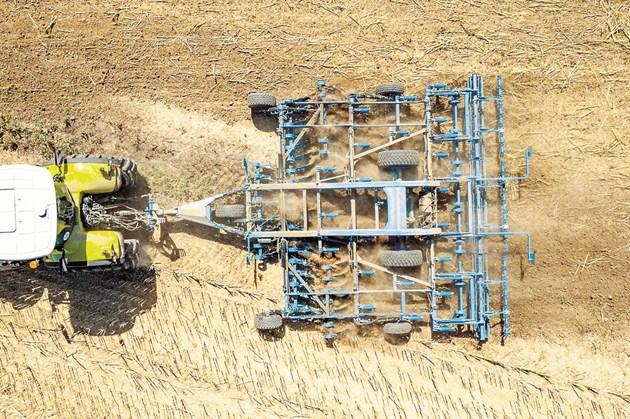 Ултра плитка обработка със запазване на влагата в почвата