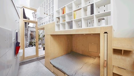 Дом за шестима на 43 кв. м (галерия)