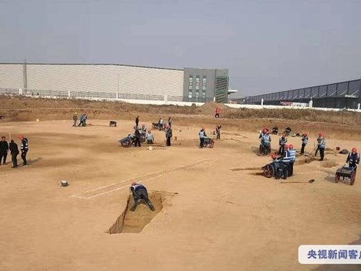 Разкопки разкриха столицата на първата обединена китайска държава