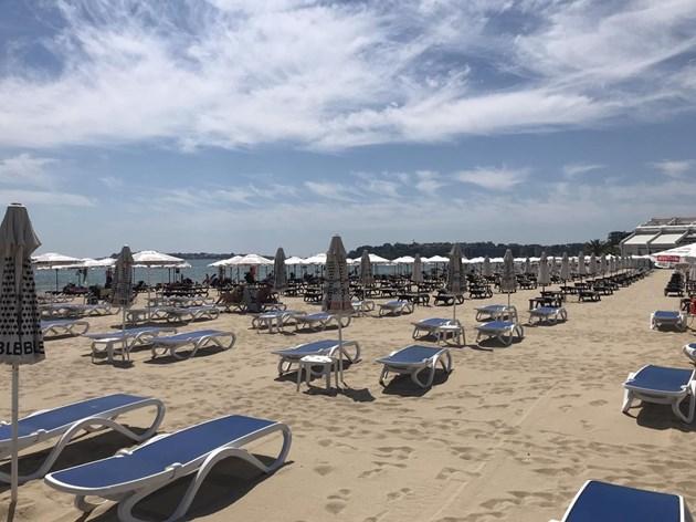 Слънчев бряг - празен