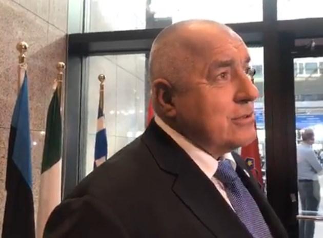 """Борисов: 6 страни искаме преразглеждане на пакета """"Мобилност"""" (На живо)"""