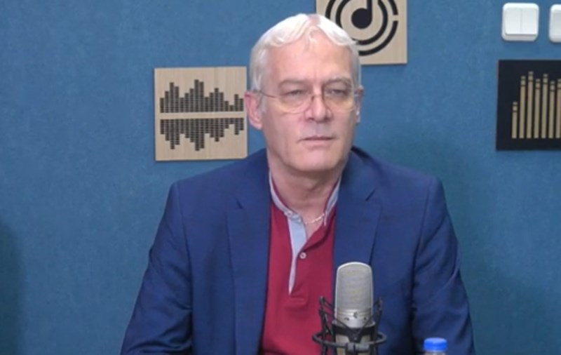 """Петко Салчев Кадър: """"Дарик радио"""""""