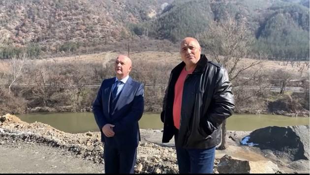 """Борисов: През март ще може да се минава през тунел """"Железница"""""""