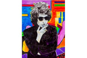Картината с Боб Дилън бе продадена на търг за $ 1,4 млн.