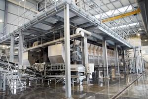 В новия филтрационно-сушилен цех във Фабрика Ветово се използват най- новите технологии в преработката на индустриални минерали.