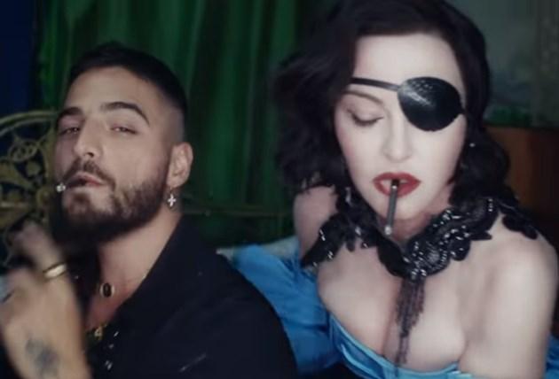 Мадона пусна първия си клип от 4 години насам (Видео)