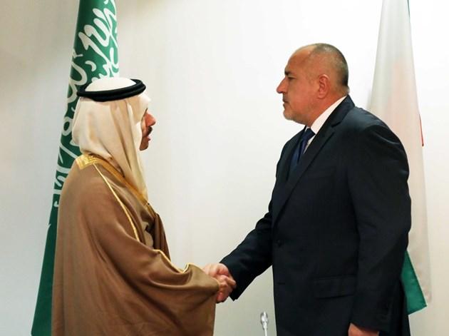 Борисов пред саудитския министър: Може да се върнем на газовата карта като регионален център