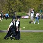 Лондонската полиция е на ръба на силите си (Снимки)