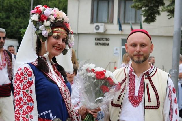 Фолклорна сватба на нашенка и германец