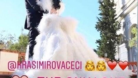 Снимки и видео от грандиозната сватба на Цеци Красимирова