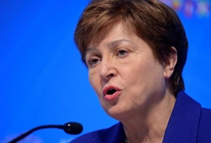 Управляващата директорка на МВФ Кристалина Георгиева