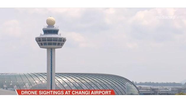 Дронове отново объркаха 18 полета в Сингапур (Видео)