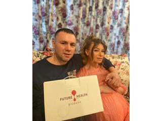 На 1 март се появи още една мартеничка - дъщеря ми Юлия