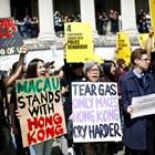 Десетки хиляди на пореден протест в Хонконг