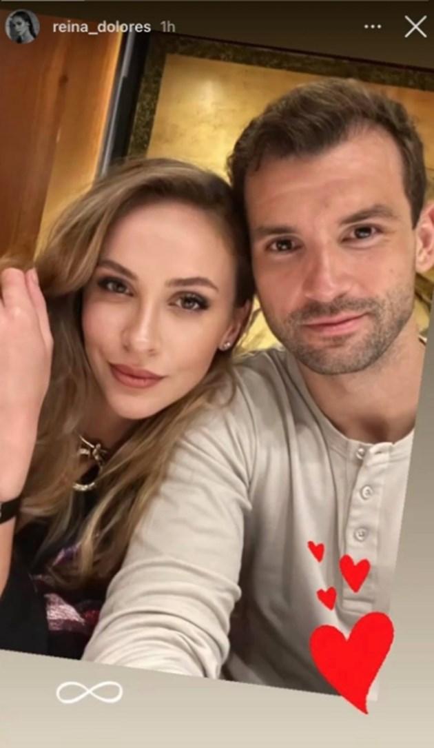 Лолита качи за първи път селфи с Григор Димитров
