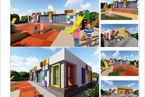 """Проектът за две нови яслени групи в район """"Триадица"""", където вече тече преустройството на общински имот."""