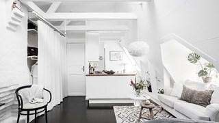 Белота и уют в 31 кв. м (галерия)