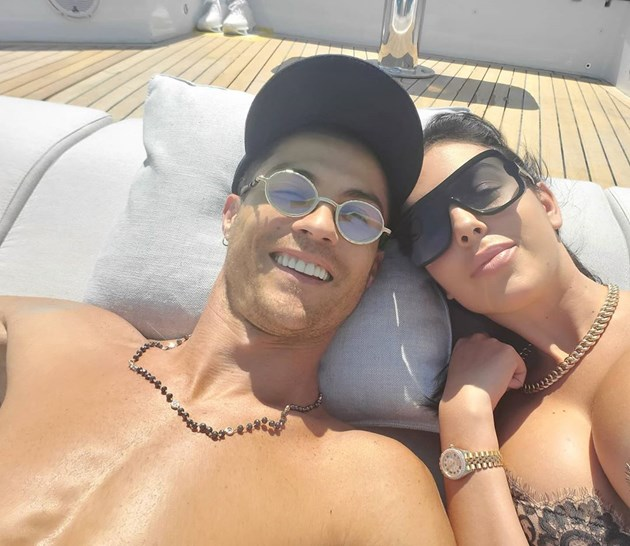 Роналдо на яхта за 15 млн. паунда