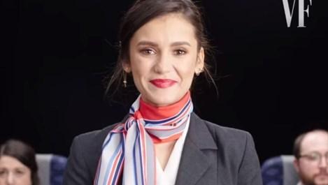 Нина Добрев става стюардеса в българска авиокомпания