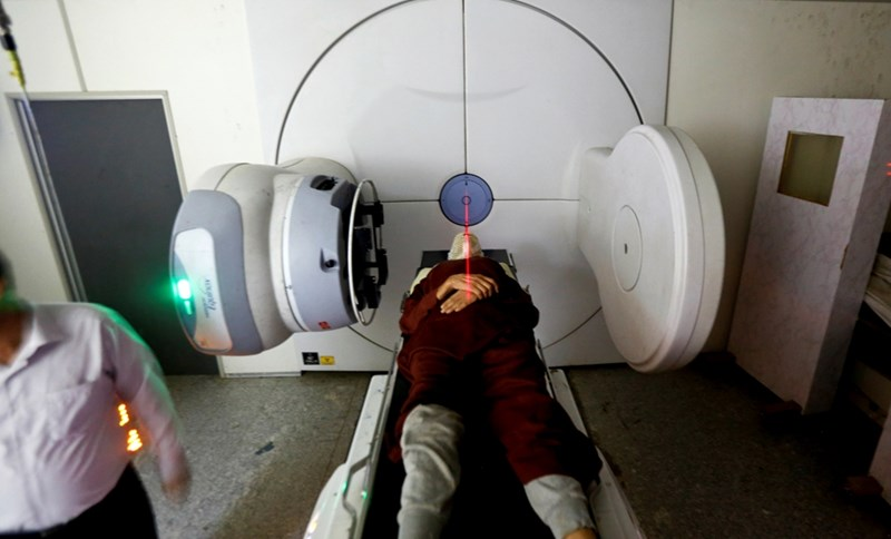 Прецизираната лъчетерапия е един от утвърдените методи за лечение на рак.  СНИМКА: РОЙТЕРС