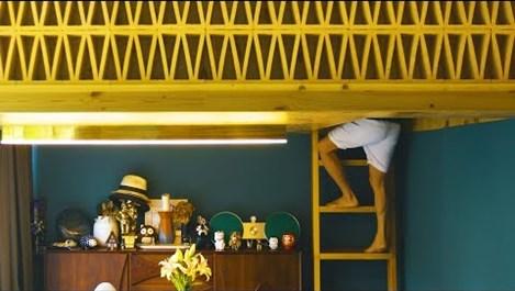 Спалня над трапезарията