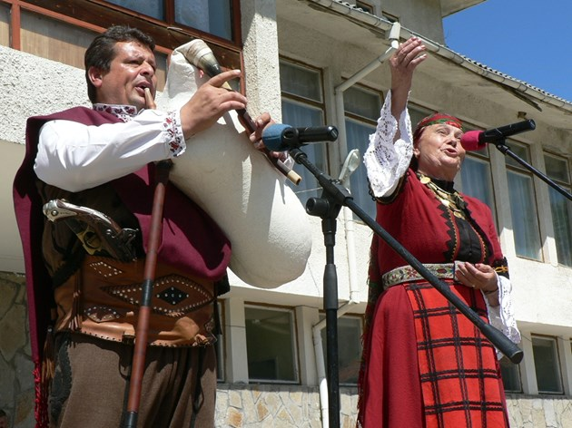 Валя Балканска и Петър Янев