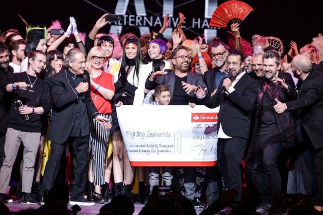 The Alternative Hair Show събра тази година 284 646 британски лири