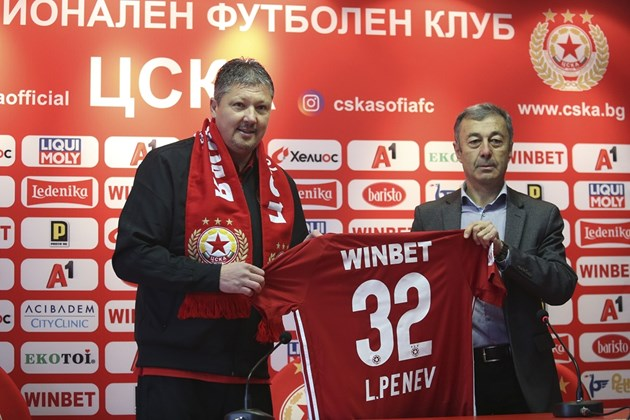 Любо Пенев: В ЦСКА съм си у дома
