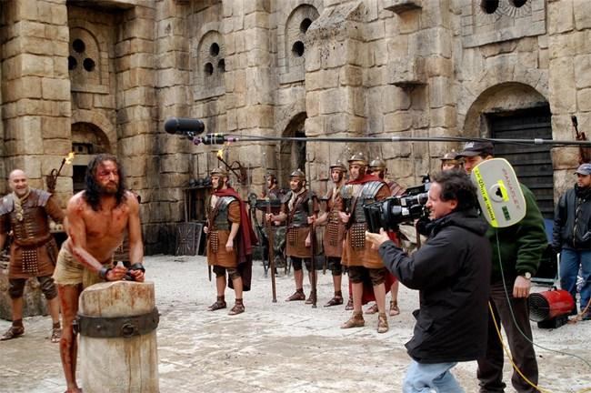 """Заснемането на филма на Мел Гибсън  """"Страстите Христови""""  в Матера"""