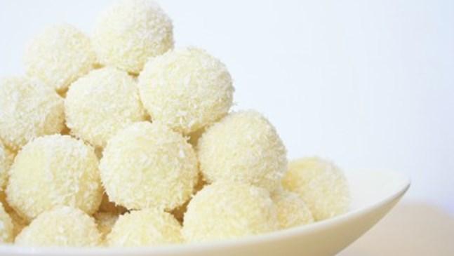 Здравословни бонбони с кокос