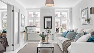 Цветни мотиви в бялото жилище (галерия)