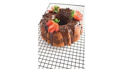 Шоколадов кекс с ягоди