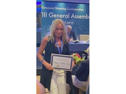 Мария Гроздева беше избрана в управата на Европейската конфедерация по спортна стрелба