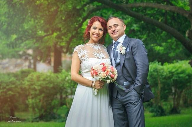 Атанас Стоянов със съпругата си Благовеста. СНИМКА: ФЕЙСБУК