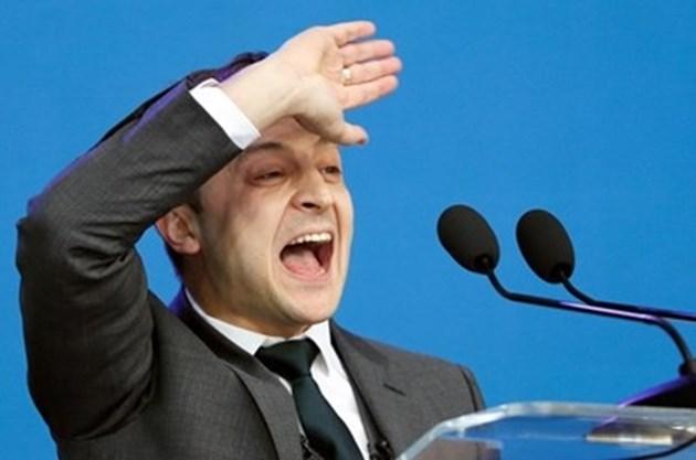 Съкрушителна победа на Зеленски на президентските избори в Украйна