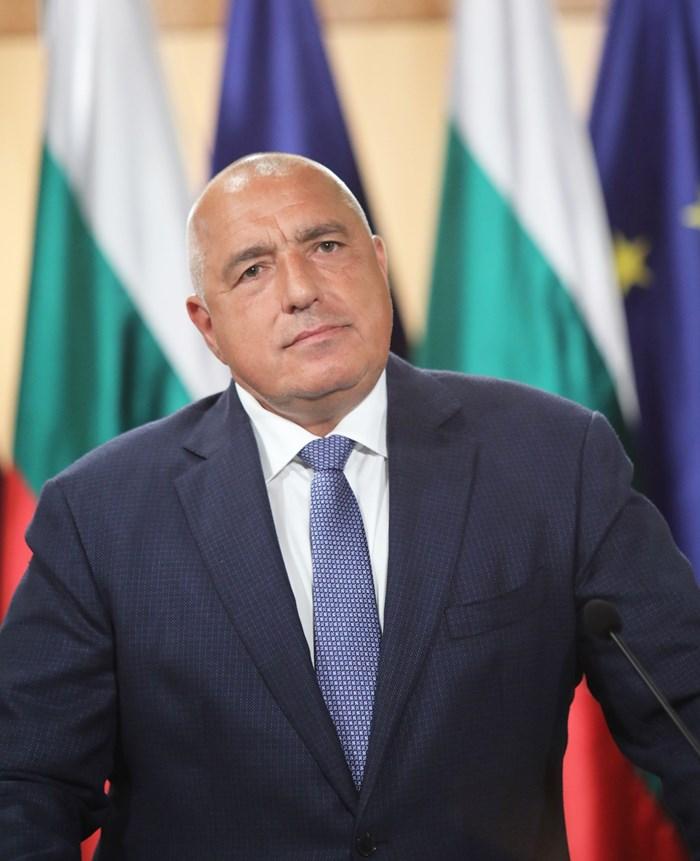 Бойко Борисов СНИМКА: Министерски съвет