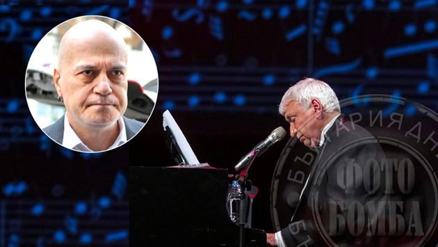 Забраниха на Слави да пее за Стефан Димитров